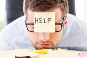 Man With Help Head (2)