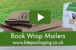 Book wrap mailers