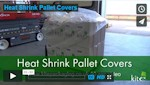 Pallet heat shrink covers
