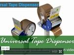 Universal tape dispenser
