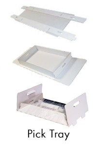 Wrap and Hold Pick Tray