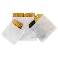 Greaseproof paper bags with food - Medium