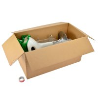 Extra heavy duty cardboard boxes - Image 1 - Medium