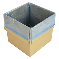 Blue tint gusseted bags (liners) - Image 1 - Medium