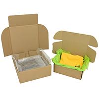 Brown postal boxes - Image 1 - Medium