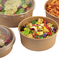 kraft food bowls with food - Medium