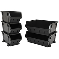 Plastic nestable pick bins - Image 1 - Medium