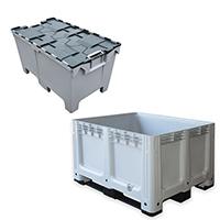 Plastic pallet boxes - Image 1 - Medium