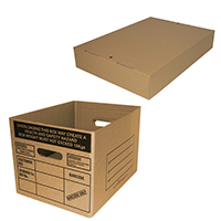 Spare bases and lids for archive boxes - Image 1 - Medium