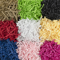 shredded paper zigzag hero - Medium