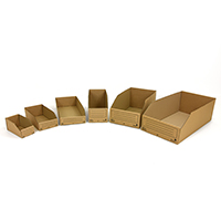 Corrugated storage bins - Image 1 - Medium