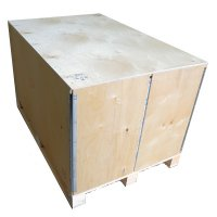 Timber cases (wooden crates) - Image 1 - Medium