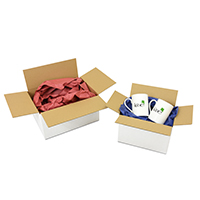 White cardboard boxes - Image 1 - Medium